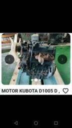 Motor diesel kubota 3 cilindros 29 cv