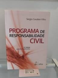 Programa de Responsabilidade Civil - Sérgio Cavalieri - Excelente Estado