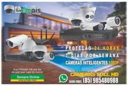 Título do anúncio: Cameras inteligente de Segurança electrónica 12x sem juros
