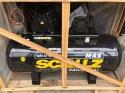 Compressor MSV 40 Max Industrial 10HP 40 Pés - Schulz