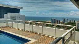 Cobertura duplex para venda tem 420 metros quadrados com 4 quartos em Patamares - Salvador