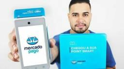 Maquineta de cartão point smart do mercado pago