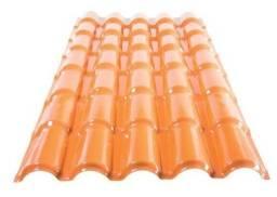 Telhas PVC colonial em 12 x