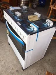 Título do anúncio: Fogão 6 bocas Caribe automático branco (na caixa + nota fiscal )