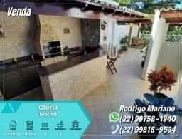 Vendo linda casa duplex c/ área gourmet na Gloria em Macaé-RJ