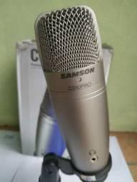 Microfone Samson C01U Pro - USB
