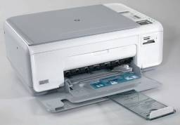 Garantia 03 meses! Impressora Multifuncional HP Photosmart C4280 - Revisada!