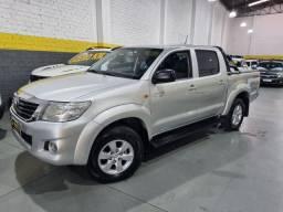 """Título do anúncio: Toyota hilux sr aut. Flex c/ gnv novo 5"""" geracao"""