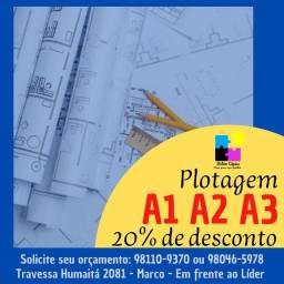 Título do anúncio: Plotagem A1 A2 e A3