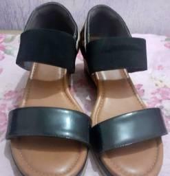 Sandália usaflex tamanho 34 seminova