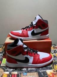 Nike Air Jordan 1 MID Chicago 2020 Novo