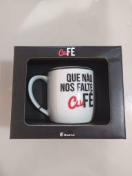 Caneca Que Não Falte Café