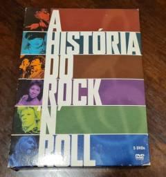 Box DVD - A História de Rock N´Roll