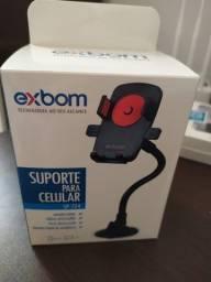 Suporte Veicular Exbom - suporte para celular