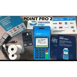 Maquineta Point Pro 2 Mercado Pago c/ Emissão de Comprovante