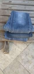 Lotinho calças Jeans feminina