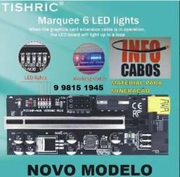 Placa Riser Ver 009s Pci-e Cabo Usb 3.0 50cm - Modelo Novo