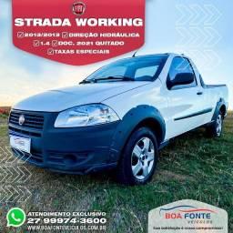 Título do anúncio: Fiat / Strada treeking 1.4 Cab simples