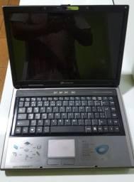 Título do anúncio: Notebook Evolute sfx-35 com defeito R$ 150,00