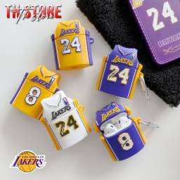 Case  capa AirPods  i12 lakers basquete