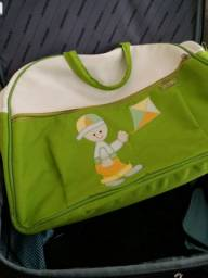 Bolsa grande para utensílios de bebê