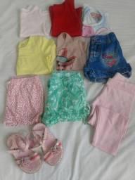 Lote Menina 1-2 anos