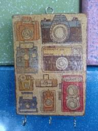 Porta-chaves Máquinas fotográficas Old School