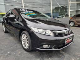 Honda Civic 2014 Automático Lxr Completo 78.000 Km Revisado Novo