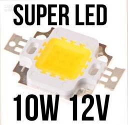 refletores led chip 10w arduino