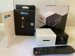 Mini projetor LED 1080p+ chrome next 1080p
