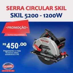Serra Circular Manual Elétrica Skil 5200 ? Entrega grátis