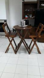 Mesas dobraveis - Madeira de 1° linha