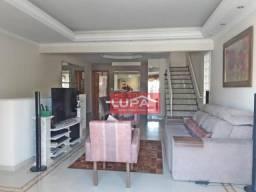 Casa duplex com 3 dormitórios à venda, 240 m² por r$ 1.000.000 - embaré - santos/sp