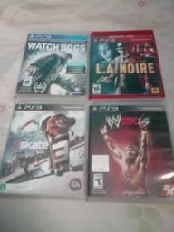Jogos de PS3 troco