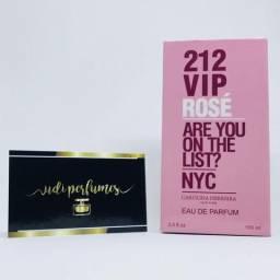 Perfume 212 VIP Rose NYC Carolina Herreira 100ml