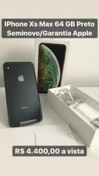 IPhone Xs Max 64 GB + Garantia Apple Completo na Caixa