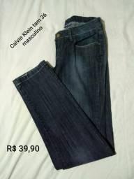Calça jeans Calvin Klein 36