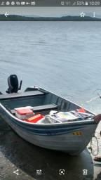Vende-se barco de alumínio - 2002