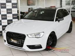 Audi A3 Sportback 1.8 / Teto solar / Bancos em couro / Impecável - 2014