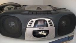 Radio toca-fitas cdplayer