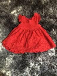 Vestido recém nascido