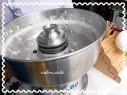 Aluguel Festas Maquinas de Algodão Doce Crepe Suiço Pipoca Cascata de Chocolate Rechaud