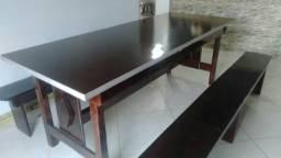 Fabrico e vendo mesa de madeira