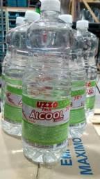 Álcool Antisséptico 70% 1 Litro Líquido ou em Gel Uzzo Fácil