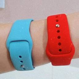 Pulseira Silicone Smart Watch