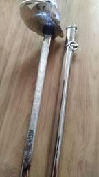 Espada Oficial Exército Ibéria damascada 102cm