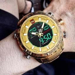 Relógio NaviForce 2020 - Limited Edition - Frete Grátis/Parcelamento 12x