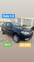Palio 1.0 Celebration 2011 - Entrada 3.990,00 + 48x 649
