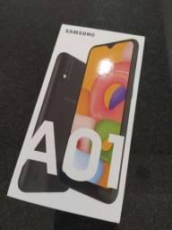 Samsung Galaxy A01 Preto, 32 gb NOVO