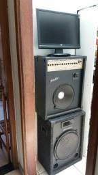 Vende_Se Caixa de som + monitor